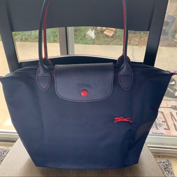 Longchamp Le Pliage Club Med Long Handle Tote Bag